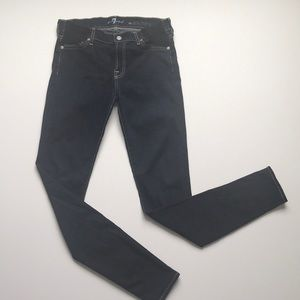 Maternity jeans 7 for all mankind skinny size 27